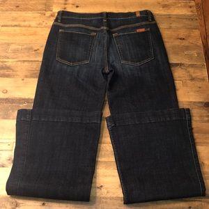 7 For All Man Kind Ginger Flare Jeans Dark wash 31
